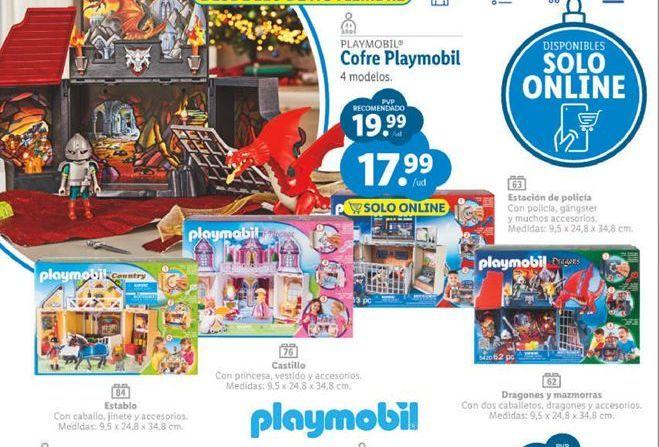 Oferta de Juguetes Playmobil por 17,99€