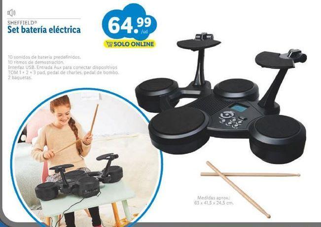 Oferta de Batería de juguete por 64,99€