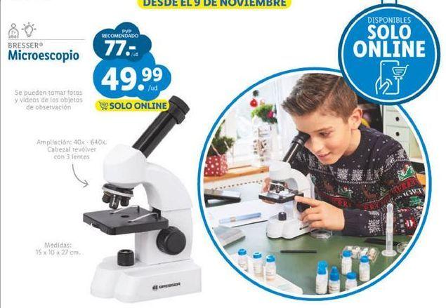 Oferta de Microscopio Bresser por 49,99€