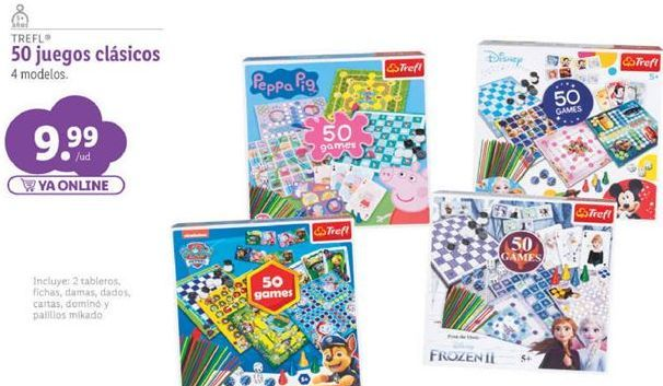 Oferta de Juegos de mesa infantiles por 9,99€