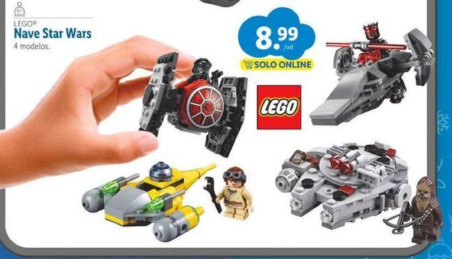 Oferta de Juguetes LEGO por 8,99€