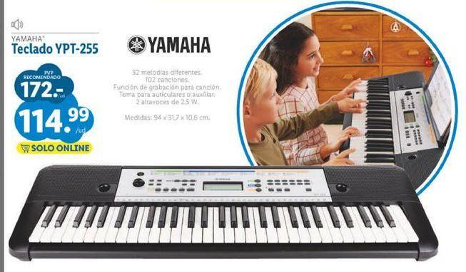 Oferta de Teclado Yamaha por 114,99€