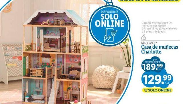 Oferta de Casa de muñecas por 129,99€