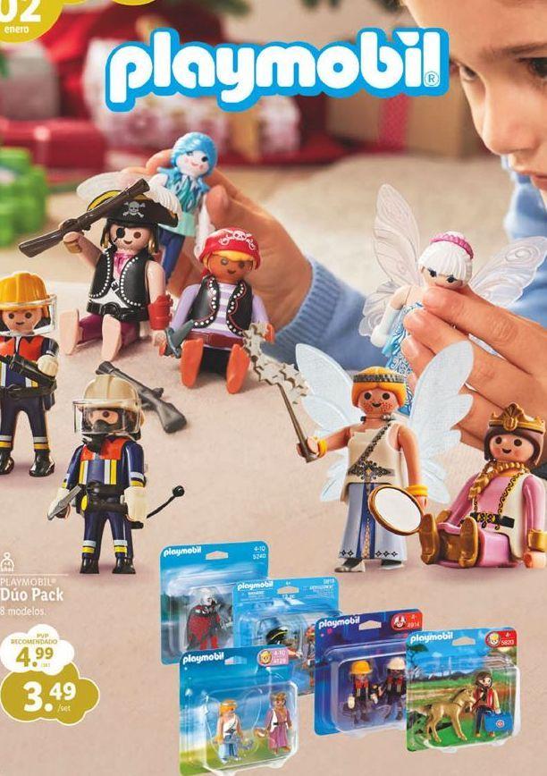 Oferta de Juguetes Playmobil por 3,49€