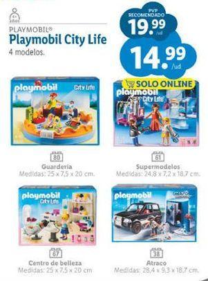 Oferta de Juguetes Playmobil por 14,99€