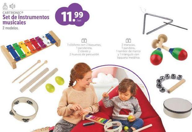 Oferta de Instrumento musical para bebés por 11,99€