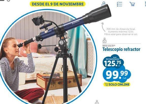 Oferta de Telescopio Bresser por 99,99€