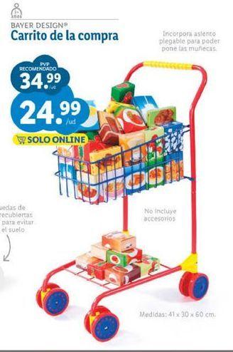 Oferta de Carrito compra juguete por 24,99€