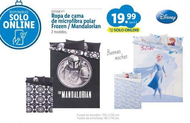 Oferta de Ropa de cama Disney por 19,99€