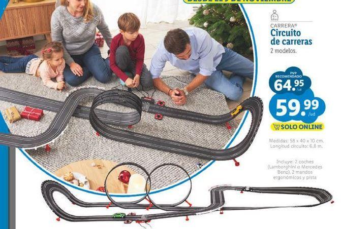 Oferta de Pistas de coches Carrera por 59,99€