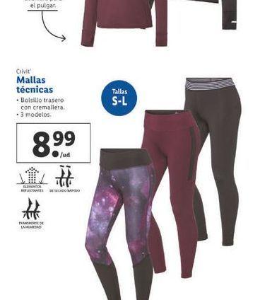 Oferta de Mallas técnica Crivit por 8,99€