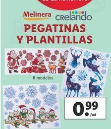 Oferta de Pegatinas y plantillas melinera por 0,99€
