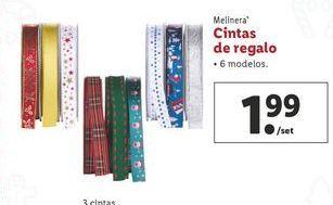 Oferta de Cintas de regalo melinera por 1,99€