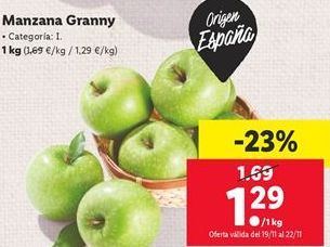 Oferta de Manzanas por 1,29€