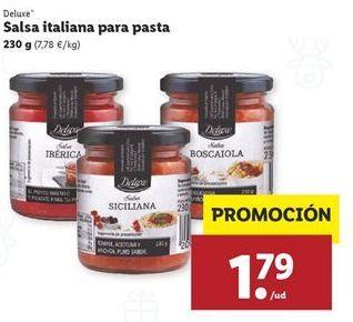 Oferta de Salsas Deluxe por 1,79€