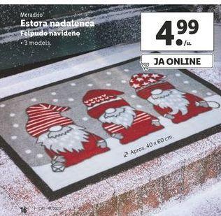 Oferta de Felpudo navideño Meradiso por 4,99€