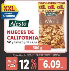 Oferta de Nueces Alesto por 6,09€