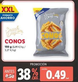 Oferta de Snacks Snack Day por 0,59€