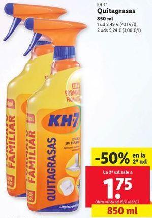 Oferta de Quitagrasas KH-7 por 1,75€