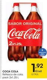 Oferta de COCA COLA  por 1,92€