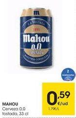 Oferta de Cerveza 0,0 Tostada  por 0,59€