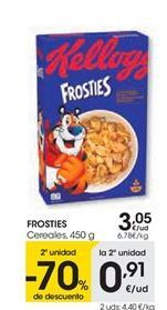 Oferta de Cereales FROSTIES por 3,05€