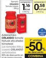 Oferta de Los tomates fritos y casero ORLANDO señalizados  por 1,16€