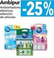 Oferta de AmbiPur Ambientadores eléctricos selección de artículos  por
