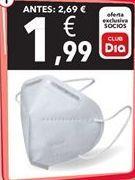 Oferta de Mascarilla FPP2 por 1,99€