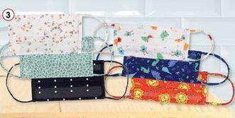 Oferta de Mascarilla textil infantil o adulto  por 3,49€