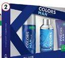 Oferta de Benetton Colors masculina edt + deo + gel  por 15,99€