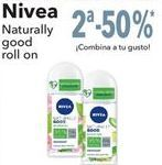Oferta de Nivea Naturally good roll on  por