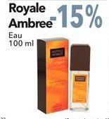 Oferta de Royale Ambree Eau por