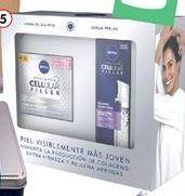 Oferta de Nivea Cellular antiage día fp30 + serum perlas  por 19,49€