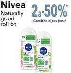 Oferta de Nivea Naturally good roll on  por