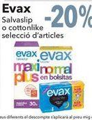 Oferta de Evax Salvaslip o cottonlike selección de artículos  por