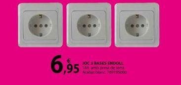 Oferta de JOC 3 BASES ENDOLL por 6,95€