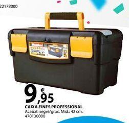 Oferta de CAIXA EINES PROFESSIONAL por 9,95€