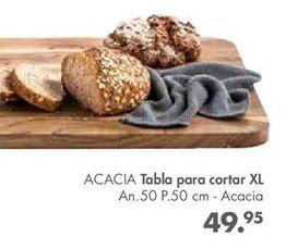 Oferta de Tabla de cortar Acacia por 49,95€