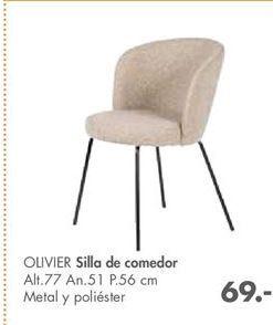 Oferta de Silla de comedor OLIVIER  por 69€