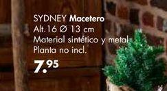 Oferta de Macetero Sydney por 7,95€