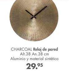 Oferta de Reloj de pared CHARCOAL por 29,95€