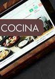 Oferta de ACACIA LUX Atril de cocina soporte tableta natural A 16 x An. 18 x P 11.5 cm por 13,95€