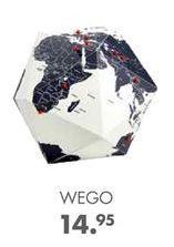 Oferta de WEGO Globo negro, blanco Ø 23 cm por 14,95€