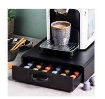 Oferta de CAFE Cajón capsulas cafe negro A 7.5 x An. 28 x P 34.5 cm por 19,95€