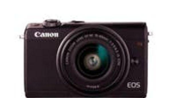 Oferta de Canon EOS M100 MILC 24,2 MP CMOS 6000 x 4000 Pixeles Negro por 377,99€