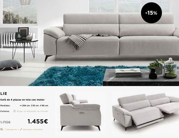 Oferta de Sofás por 1455€