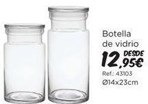 Oferta de Botella de vidrio  por 12,95€