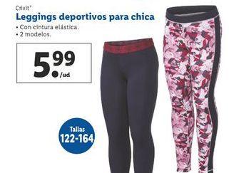 Oferta de Leggins deportivos para chica Crivit por 5,99€