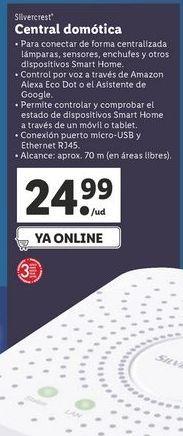 Oferta de Central domestica SilverCrest por 24,99€